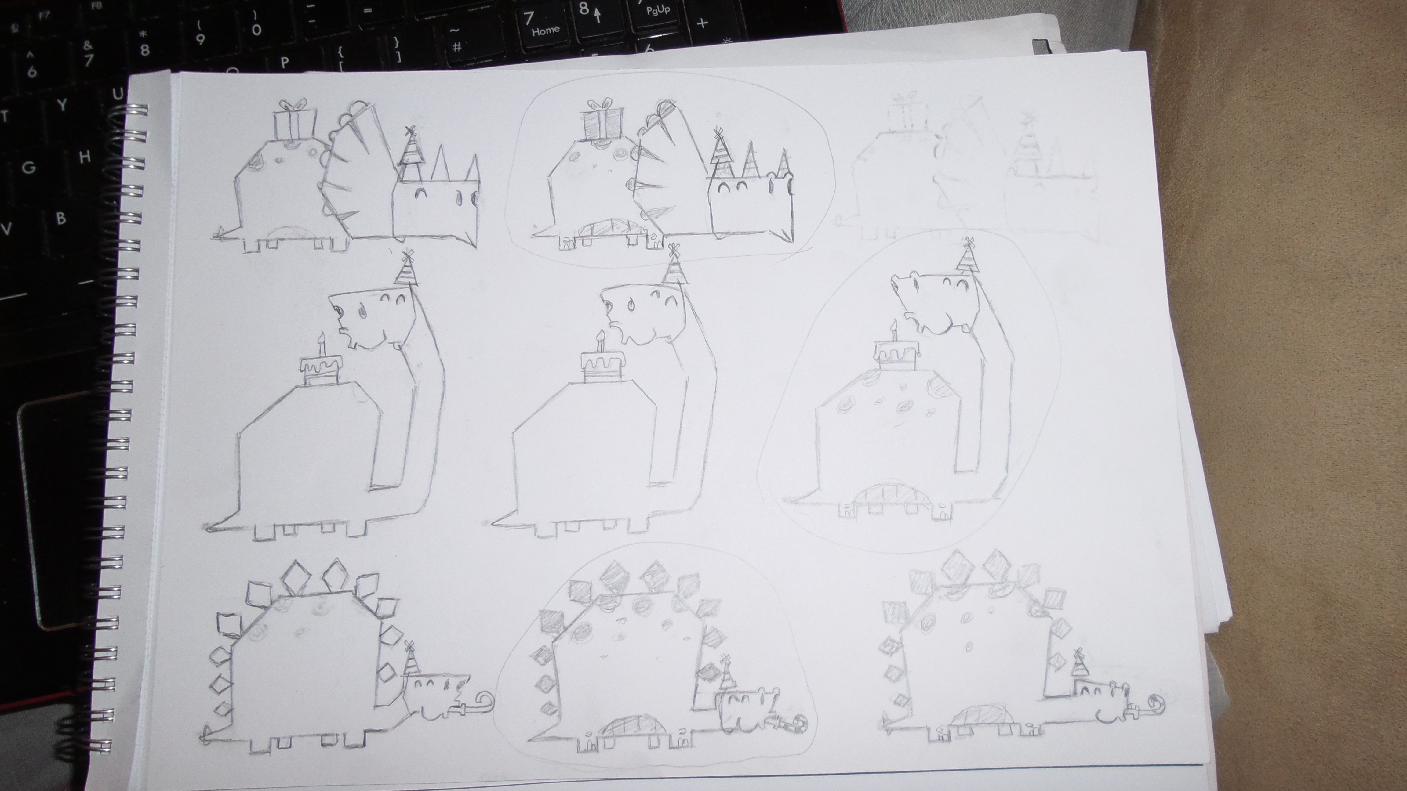 1st Birthday Dinosaur Invite - Shrewsbury Illustration & Webdesign ...